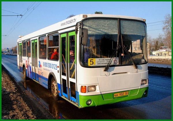 Расписание движения автобусов Брянска